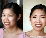 Bridesmaid Make-up (Before & After)
