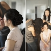 Old Mill Wedding by Blue Colibri.  Make-up by Rhia Amio