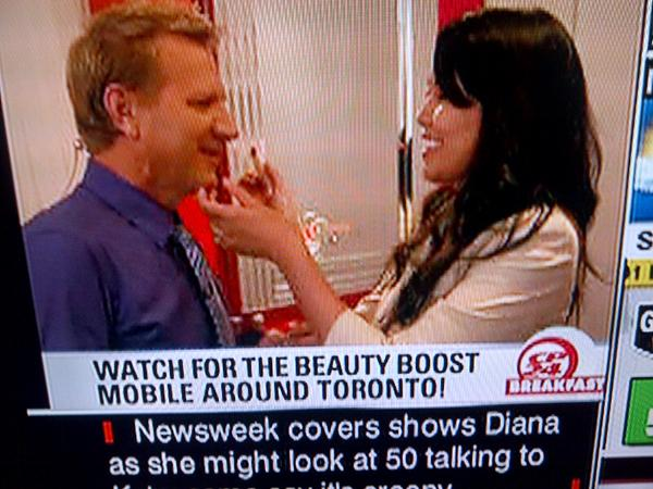 Rhia Amio Make-up Artist | TV Appearance on CP24