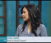 Rhia Amio Make-up Artist | TV Appearance on CHCH Morning Live